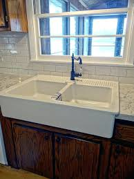 kitchen double sink apron front double sink farmhouse kitchen sink double ikea double
