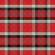 red and black scottish tartan seamless pattern vector image