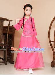 chinese traditional dress for children kid min guo clothes