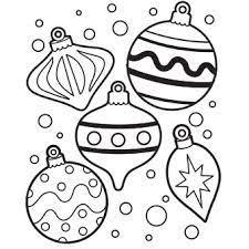 99 ideas christmas ornaments coloring sheets emergingartspdx