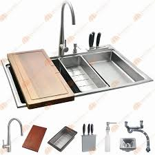 38 Inch Kitchen Sink Inch 12mm Thickness Stainless Steel Topmount Drop In Bowl