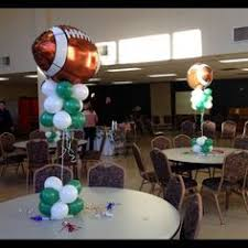 football centerpieces image result for football banquet coaches table decorations