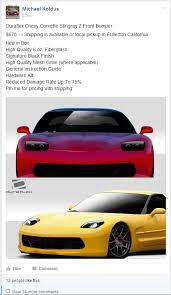 c5 corvette front spoiler duraflex stingray z front bumper for the c5 corvetteforum