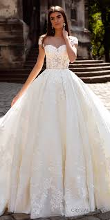 crystal design 2016 wedding dresses ball gowns bodice and illusions