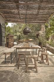Outdoor Dining Room Outdoor Dining At La Granja Ibiza A Design Hotels Retreat On A