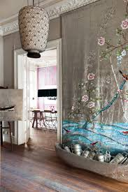 201 best chrome dining room ideas images on pinterest dining this chinoiserie handpainted wall is on pure silk is incredible this is a true work of art the purest form of beauty and i love the real life art