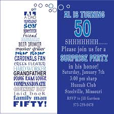 Invitation Card 7th Birthday Boy 50th Birthday Invitation Wording Haskovo Me