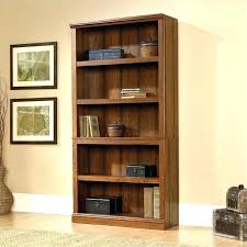 Corner Bookcase Cherry Sauder Corner Bookcase Corner Bookcase Select 5 Shelf Bookcase In