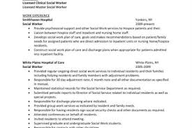Sample Social Service Resume by Child Welfare Social Worker Cover Letter