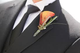 calla boutonniere mini calla and eucalyptus groom boutonniere floret designs
