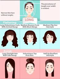 flip hairstyles for long face shape the ultimate hairstyle guide for your face shape long faces