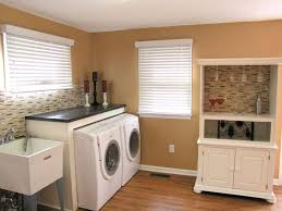 astonishing basement laundry room white washing machine cabinet