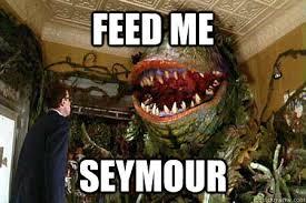 Feed Me Seymour Meme - feed me seymour audrey 2 rage quickmeme