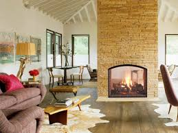 20 gorgeous two sided fireplaces for your spacious homes bricks
