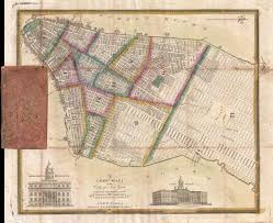 Wall Map Of New York City by File 1831 J Langdon Pocket Map Of New York City Geographicus