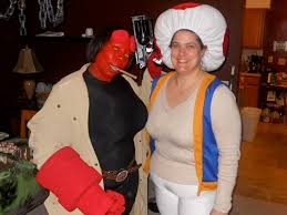 Hellboy Halloween Costume Cosplay Photo Party Fun U2014 Breaking Normal