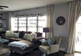 Hang Curtain From Ceiling Decorating Marvelous Hang Curtain From Ceiling Decorating With How High