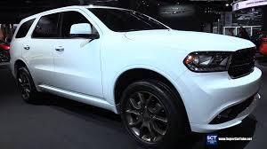 Dodge Durango Rt 2015 - 2016 dodge durango v8 awd exterior and interior walkaround