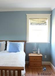 best benjamin moore blue paint colour mountain air guest bedroom