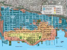 Florida Elevation Map by New Hoboken Flood Map With Water Levels Post Hurricane Sandy