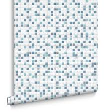 Blue And White Wallpaper by Bathroom Wallpaper Uk Blue White U0026 Black Bathroom Wallpaper
