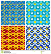 four eastern geometric ornaments stock photography image 21003002