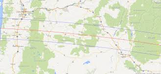 Beaverton Oregon Map by State Maps With The Total Eclipse Path Go See The Eclipse