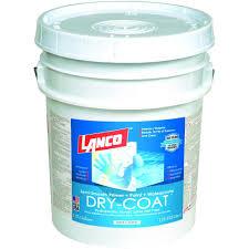 lanco dry coat 5 gal white and pastel flat acrylic latex interior