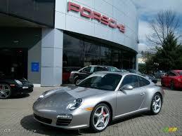 porsche 4s 2011 2011 platinum silver metallic porsche 911 4s coupe