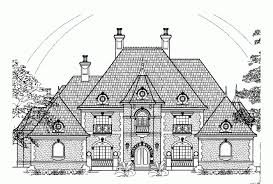 chateauesque house plans eplans chateau house plan four bedroom chateauesque 4955