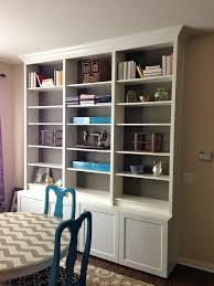 Ikea Bookshelves Built In by 16 Best Faux Built Ins Images On Pinterest Built Ins Bookshelf