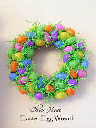 how to make an easter egg wreath easter egg wreath pictures photos and images for
