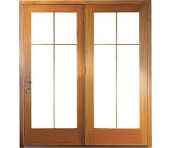 full view glass door exterior design sliding glass pella doors with brown wooden frame