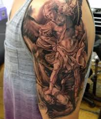st michael tattoo 75 st michael tattoo designs for men archangel