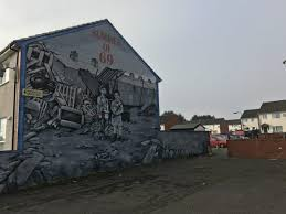 these murals lie at the center of a debate over northern ireland s mural in shankill commemorating a small undercover loyalist paramilitary group photo by ivette feliciano