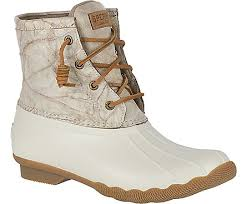 womens boots distressed leather s saltwater distressed leather duck boot boots sperry