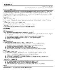 food science resume resume ideas