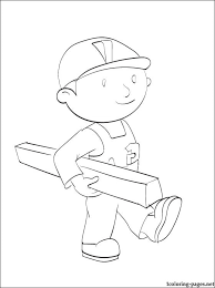 coloring bob builder bird coloring pages