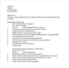 Office Job Resume Templates Sample Office Assistant Resume 9 Download Free Documents In Pdf