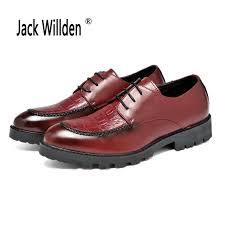 Wedding Dresses Derby Aliexpress Com Buy Jack Willden Mens Casual Shoes Wingtip Black