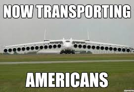 transporting america the functional airplane know your meme