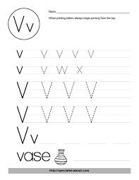 free worksheet activities for the letter v free worksheets