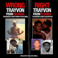 Trayvon Meme - shooting victim martin s identity questioned