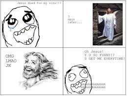 Lol Funny Meme - funny haha jesus lol meme image 225535 on favim com