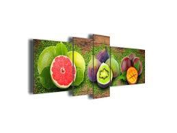 cadre cuisine toile de cuisine tableau toile dacco cuisine trio de fruits toile