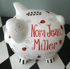 Monogram Piggy Bank 41 Best Piggies Images On Pinterest Piggy Banks Pigs And Painting