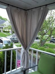 Outdoor Canvas Curtains Canvas Drop Cloth Curtains For Screen Porch Block Out Afternoon