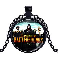 pubg logo 6pcs set game playerunknown s battlegrounds choker necklace winner