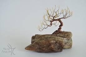 miniature bonsai wire tree by norianum on deviantart