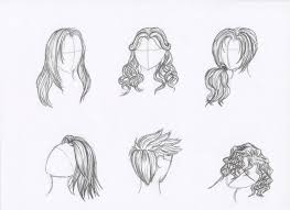 sketches of hair pencil sketches of hair by rozen guarde on deviantart
